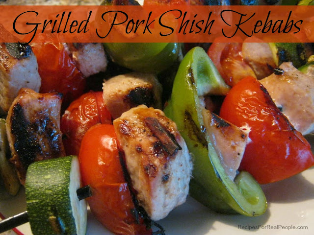 Grilled Pork Shish Kebabs (shish-kabobs)