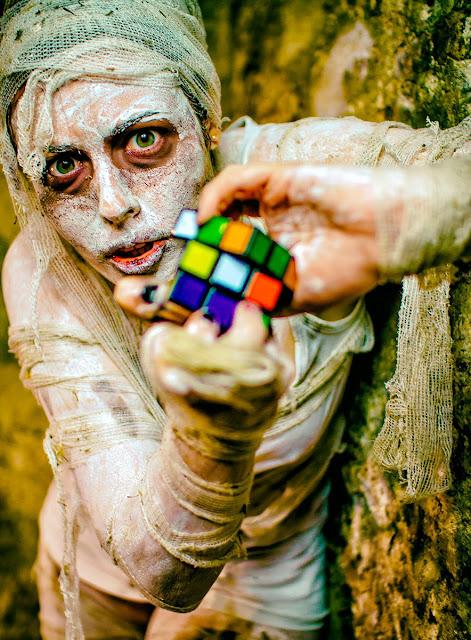 InsinuaT - Sesion de fotos HORROR SIlen Hill Rubik