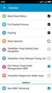 BBM Mod Original 3.0.0.18 Fitur DP tanpa Crop