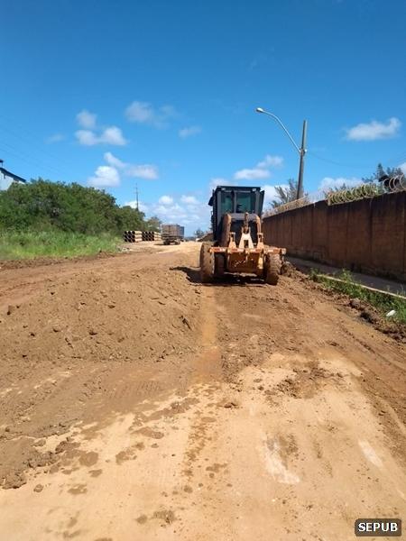 Bairros recebem serviços de manutenção em São Pedro da Aldeia