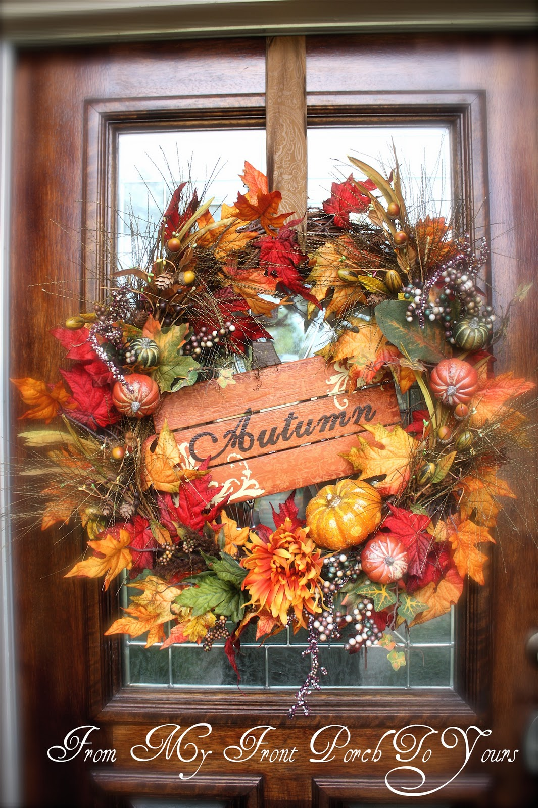 From My Front Porch To Yours Fall Porch