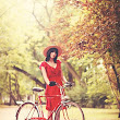 Sex and the bici: Un vestido rojo y una bicicleta