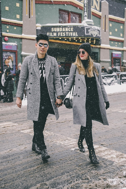 Leo Chan and Alicia Mara of Levitate Style at Sundance Film Festival | What to Wear to Sundance