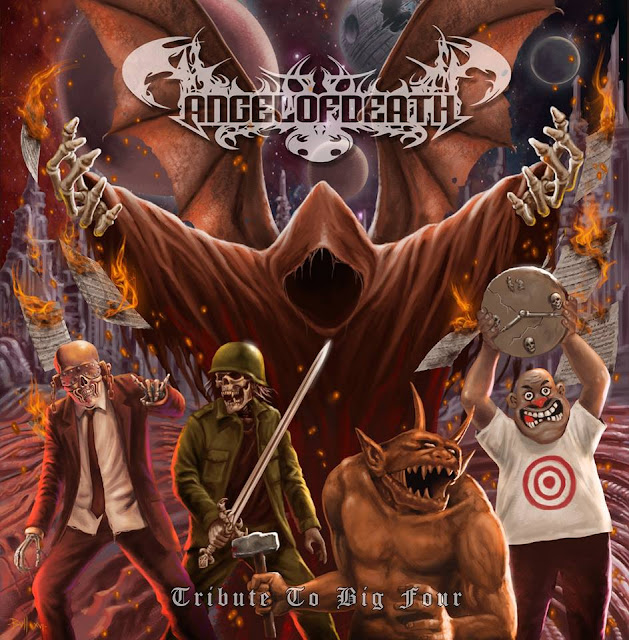 Pra- Release Album Review : Angel Of Death - Tribute To Big Four
