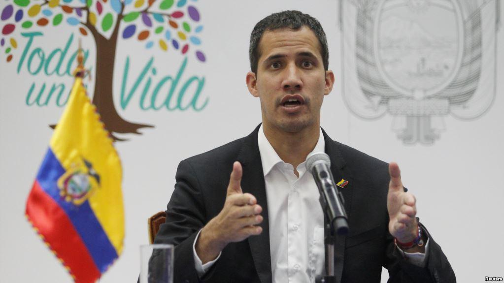 Guaidó estuvo en Ecuador toda la semana luego de denunciar amenazas contra su familia / REUTERS
