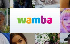 Como buscar chicas o chicos en app Wamba