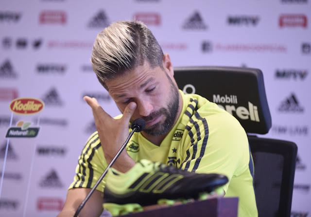 4287cb772d1 Diego se emociona ao lembrar de sobrinho do sub-14 do Flamengo