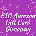 £10 Amazon Gift Card Giveaway! (CLOSED)