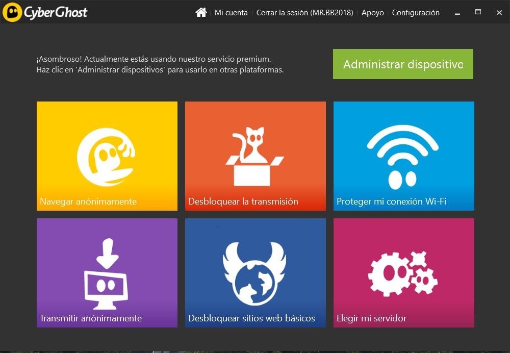 CyberGhost VPN Full Premium Gratis
