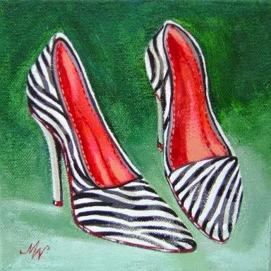 Zapatos Fashion. Imágenes.