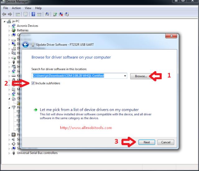 FT232R USB UART Driver Free Download For Windows