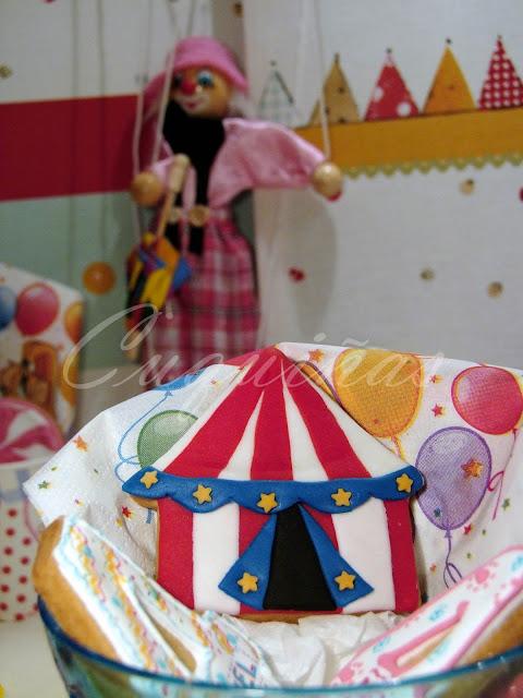 galleta carpa circo