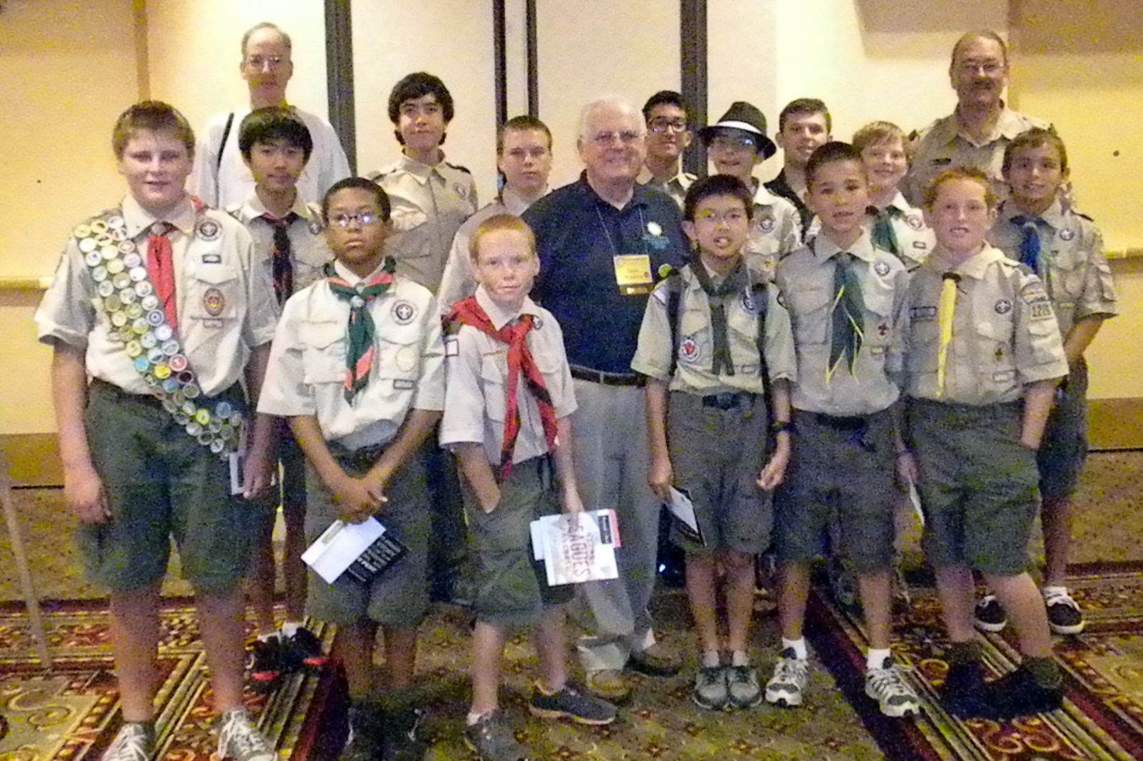 The Stamp Collecting Round Up Scouts Earn Stamp Collecting Merit Badge