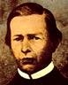 Dibujo del rostro de José de la Torre Ugarte