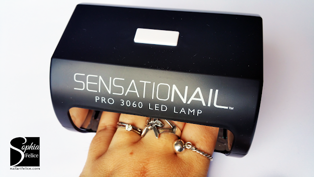 kit semipermanente sensationail - lampada led_02