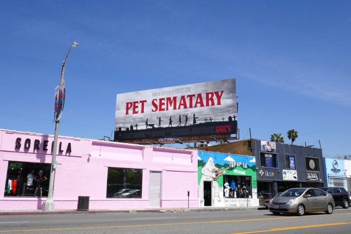 Pet Sematary movie billboard