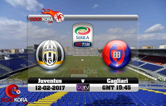 مشاهدة مباراة كالياري ويوفنتوس اليوم 12-2-2017 في الدوري الإيطالي