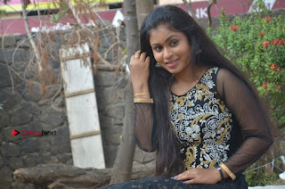 Tamil Actress Shreya Sri Stills in Black Akarkali Dress at Vanga Vanga Team Interview  0025.jpg