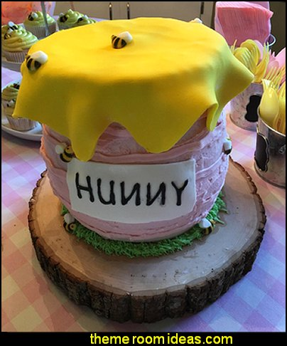 Bees Cakes Decorations  bee themed party - bumble bee decorations - Bumble Bee Party Supplies - bumble bee themed party - Pooh themed birthday party - spring themed party - bee themed party decorations - bee themed table decorations - winnie the pooh party decorations - Bumblebee Balloon -  bumble bee costumes