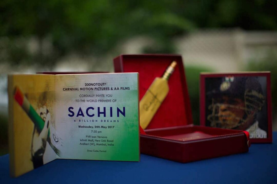 Sachin Tendulkar Launches of His Biopic