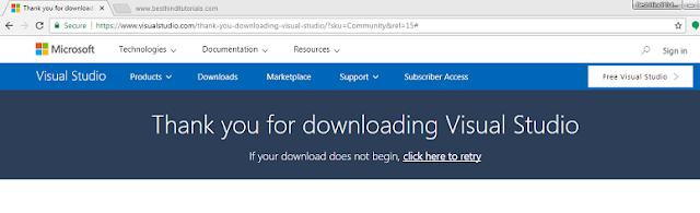 Installing-Microsoft-Visual-Studio-Expression-in-Hindi-4