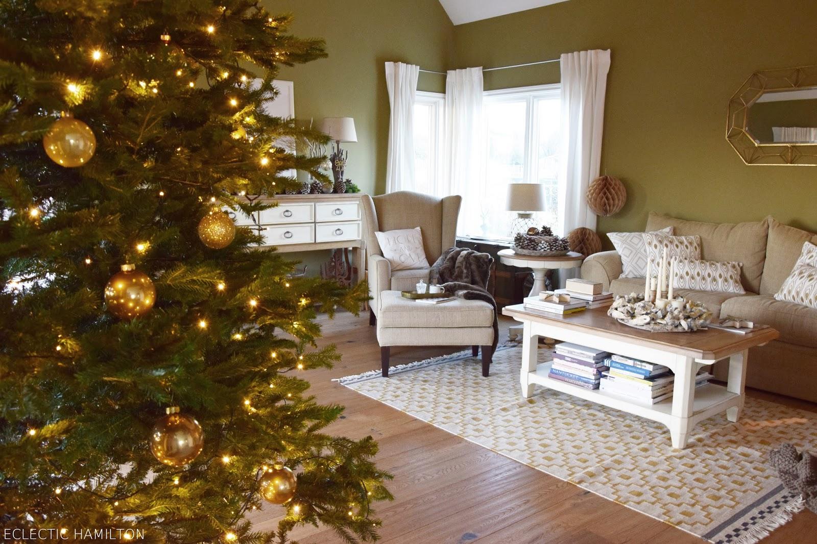 Weihnachten Wohnzimmer Dekorieren Ideen Badezimmer