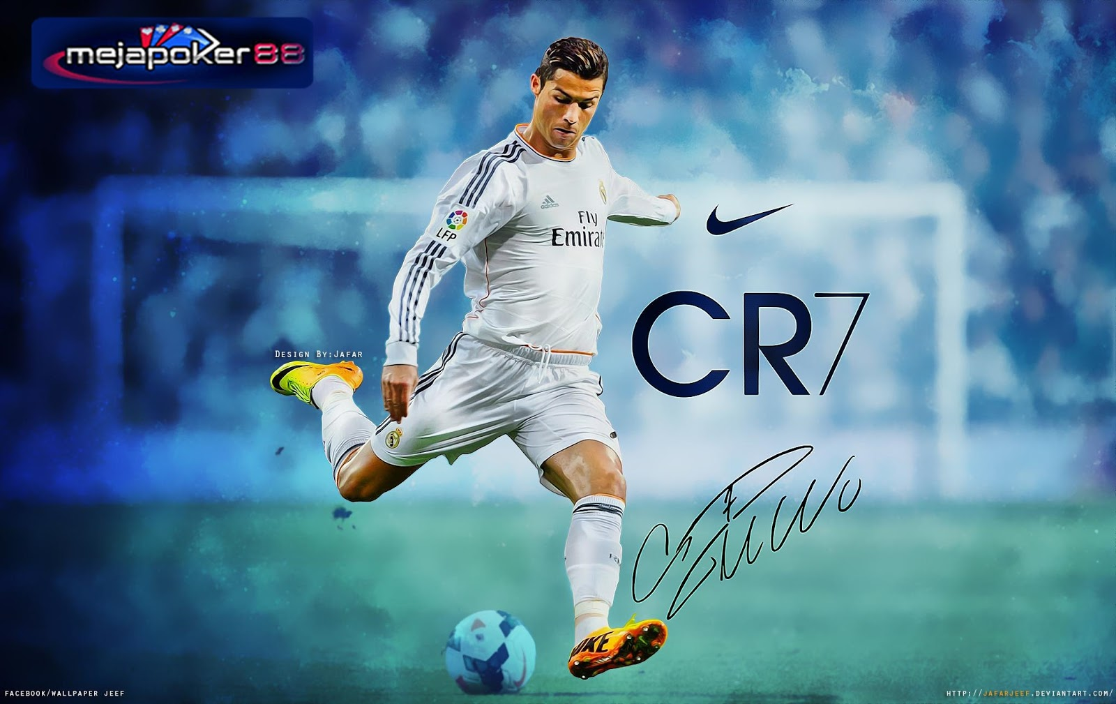 Ronaldo Mengakui Tidak Pernah Akrab Dengan Messi