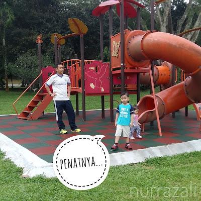 Luangkan masa dengan anak-anak di hutan bandar mutiara rini | nurrazali