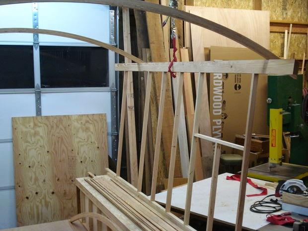 construcción de una cabaña gitana