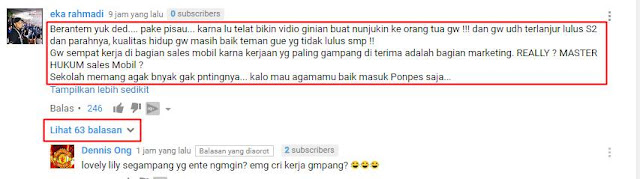 Komentar Youtube