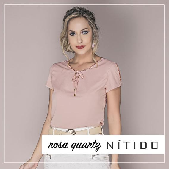 Rosa Quartzo na coleção Verão 2017 da Nítido