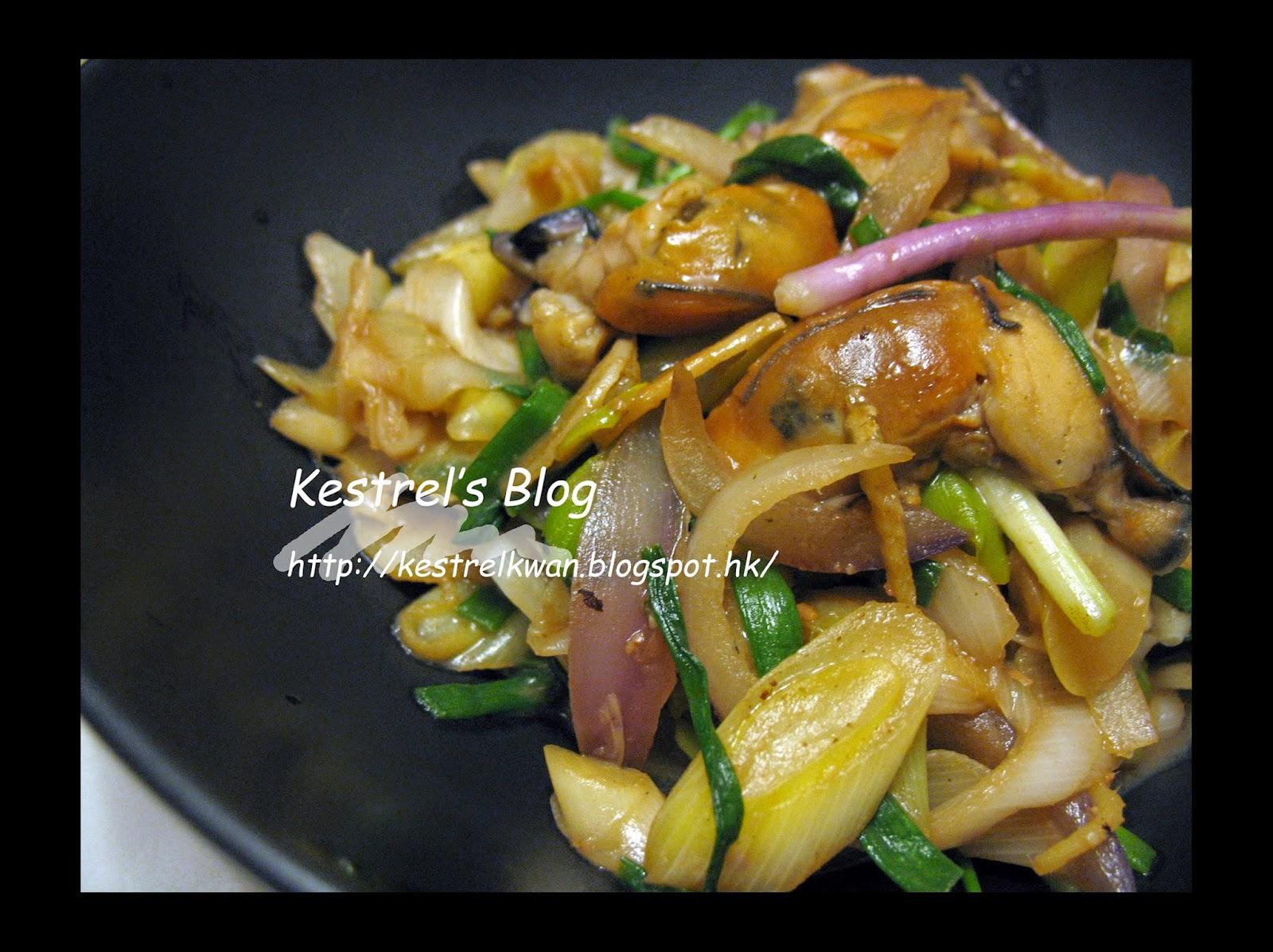Kestrel's Blog: 味噌薑蔥蠔