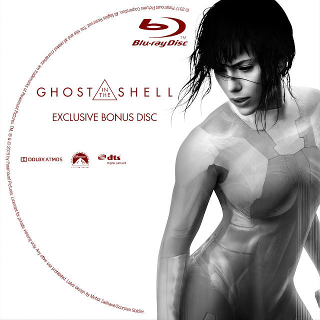 Ghost In The Shell Bonus Disc Bluray Label
