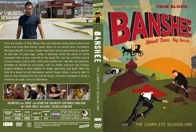 Banshee Season 1 DVD Cover