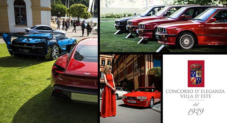 Concorso d'Eleganza Villa d'Este là một trong sự kiện xe cổ lớn nhất thế giới