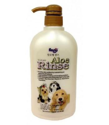 Dầu xả Forcans Aloe Rinse dưỡng lông