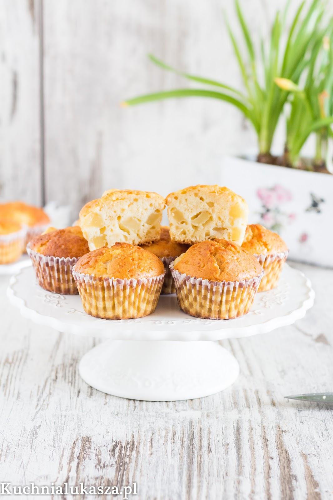 Muffiny z gruszkami