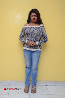 Actress Sridevi Stills in Jeans at No 1 Hero Rajendra Press Meet  0111.JPG
