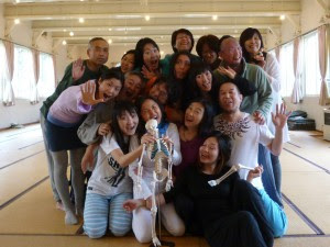 2014年春のトレーニングの参加者の皆さんの集合写真
