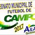 Confira como foi a 3ª Rodada do Campeonato Municipal de Futebol
