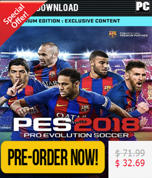 Pro Evolution Soccer 2018 - Premium Edition PC