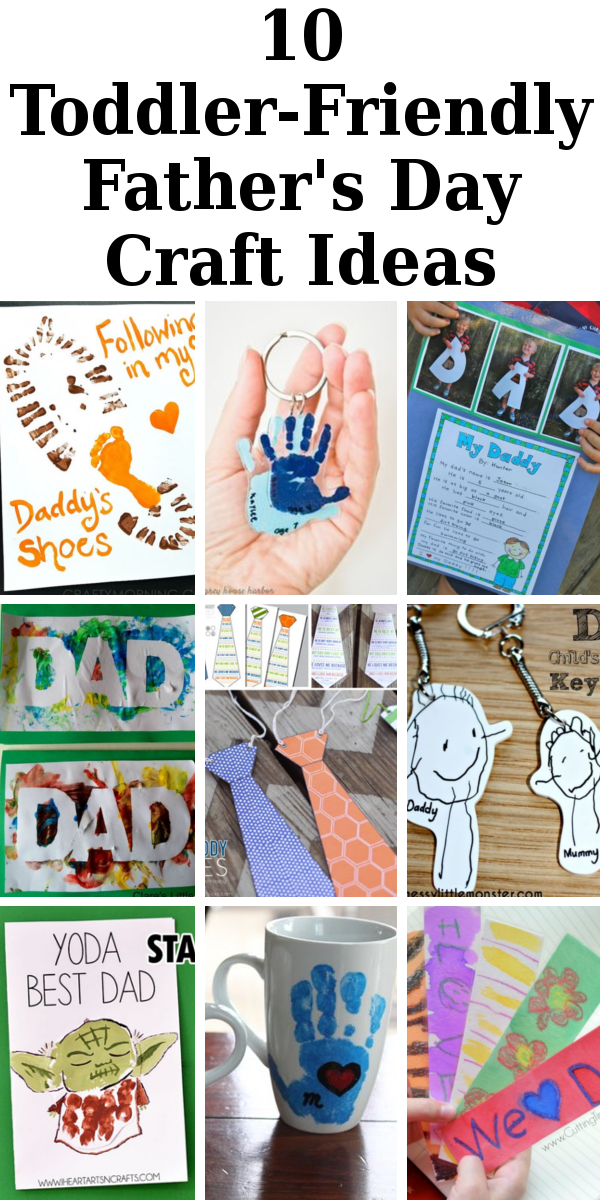 10 Toddler Friendly Father S Day Craft Ideas Diy Home Sweet Home