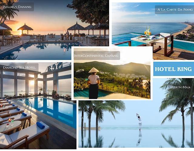 Triệu like cho những khách sạn Đà Nẵng có hồ bơi tuyệt đẹp