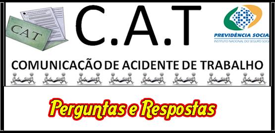 Comunicação de Acidente de Trabalho - CAT