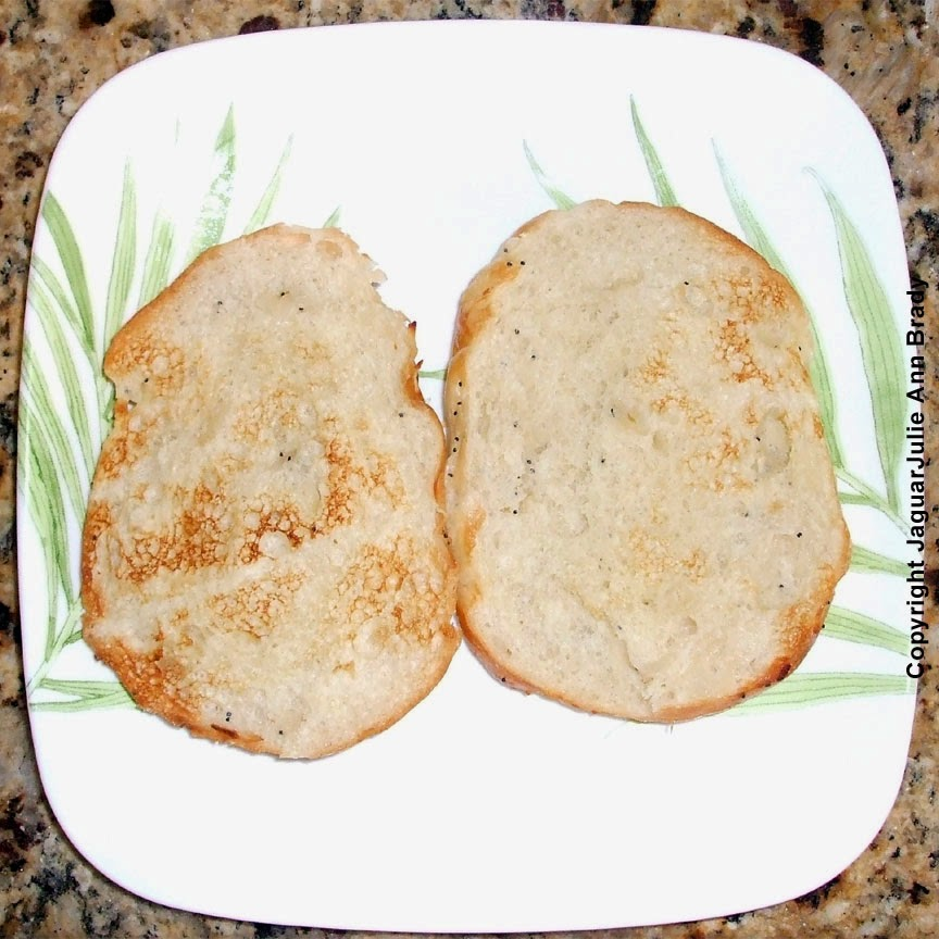 #3 - Toast your roll in the toaster.