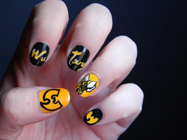 Hip Hop Nails #5: Wu Tang Clan Nails - Toxic Vanity