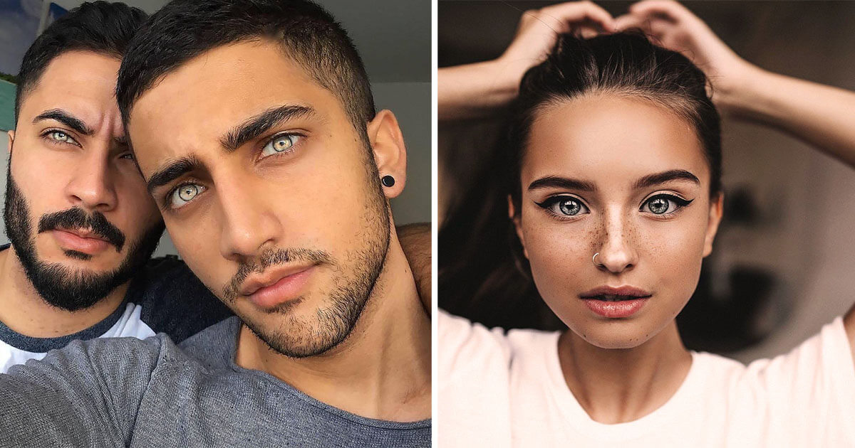20 Pictures Of People With Extraordinary Features That Made Us Reconsider The Definition Of Beauty