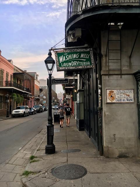 Dumaine Street New Orleans