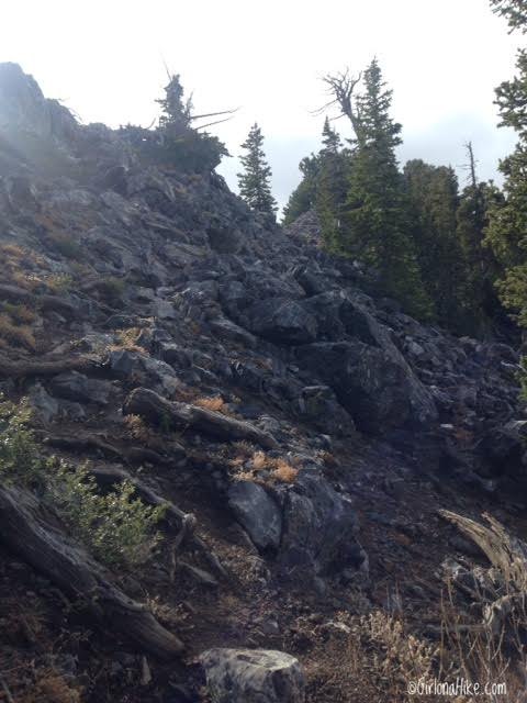 Hiking Kessler Peak, Big Cottonwood Canyon, Utah