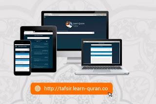 Learn Quran Tafsir - Mesin Pencari Permudah Umat Pahami Islam